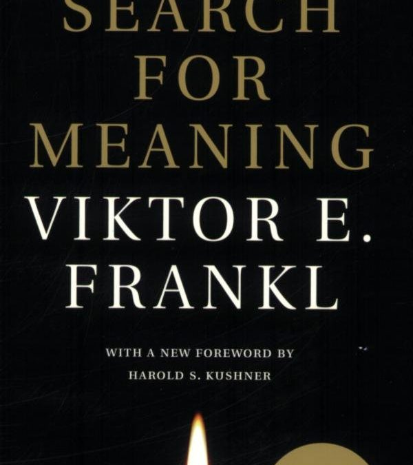 Book review- Man's search for Meaning